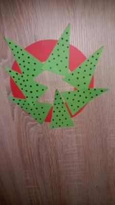 рождественский венок на дверь своими руками