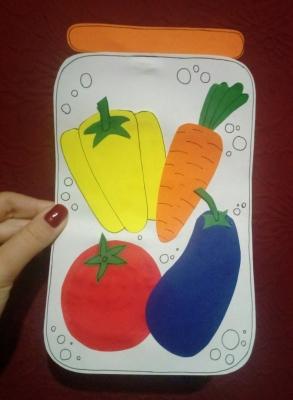 Давайте консервировать овощи своими руками, но только из бумаги.