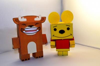 Пополни свою коллекцию игрушек, таким замечательным бумажным оленем! Следуй инструкции на фото и создавай свои собственные игрушки!