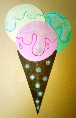 Этот рожок мороженого порадует вас не вкусом, но своей красотой!