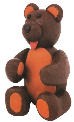 Мишка косолапый в нашу комнату идёт, только не грозный настоящий, а медведь из пластилина, сделанный своими руками!