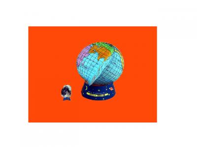 глобус паперкрафт для детей