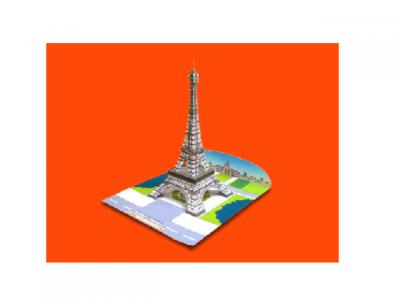 Романтика Эйфелевой башни прямо у вас дома. Стань архитектором и построй это чудо из бумаги. Скачать схему и пошаговую инструкцию можно прямо здесь и сейчас.