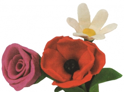 букет на 8-е марта или день рождение мамы из пластилина