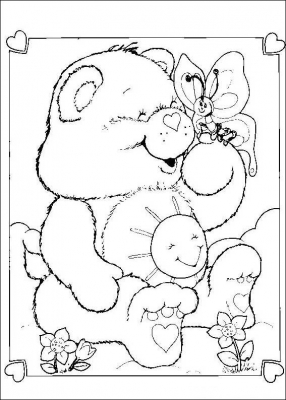 The Care Bears live in a faraway place up in the clouds called Care-a-Lot, which constitutes a part of the Kingdom of Caring.