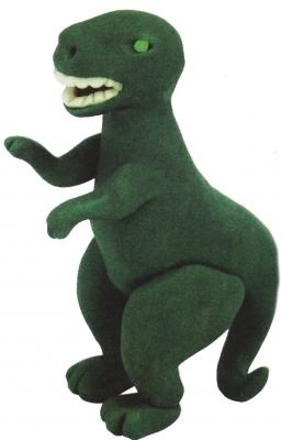Динозавр из пластилина для детей любого возраста.