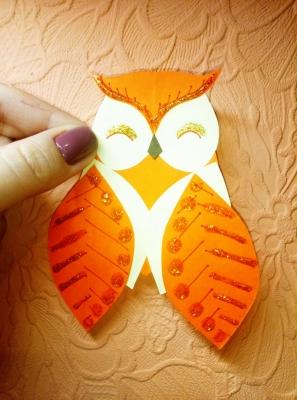 Такая милая сова подымит настроение абсолютно в любой ситуации!
