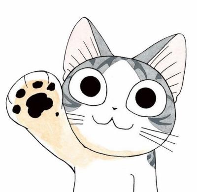 Красивая картинка кота для срисовки