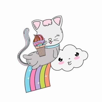 Милые котики для срисовки